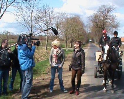 Opnames RTV Gelderland in Bennekom