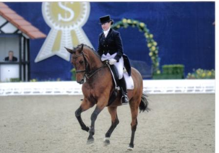 "Smile in de Grand Prix in Hagen ""Horses and Dreams"" Duitsland"